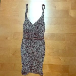 Guess Leopard Dress Size Small
